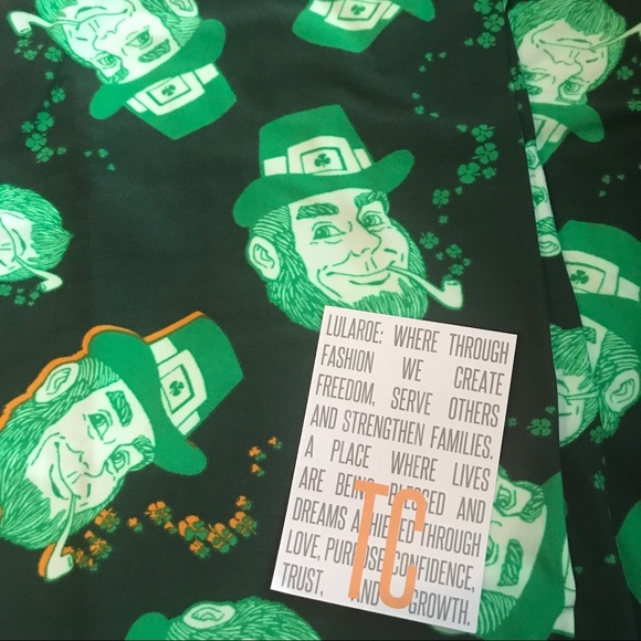 22c91ac2ae83a2 LuLaRoe Pants | Magically You St Patricks Day Tc Leggings | Poshmark
